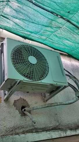 Realizó carga de aire acondicionado