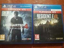 Juegos PS4 originales