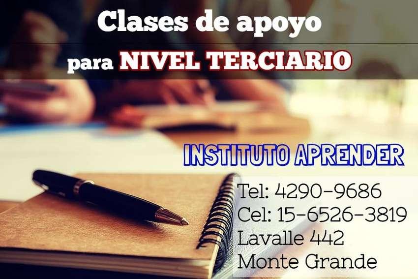 CLASES DE APOYO PARA NIVEL TERCIARIO EN EL CENTRO DE MONTE GRANDE 0