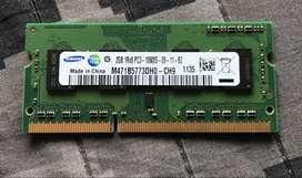 Memoria RAM Samsung 2gb DDR3 Pc3-10600