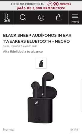 Audífonos bluetooth precio normal 149 en ripley