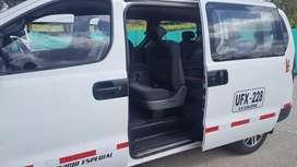 Microbús en buen estado