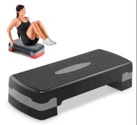 Banco Step Escalón Aeróbicos Yoga 2 Niveles Gym-ejercicios