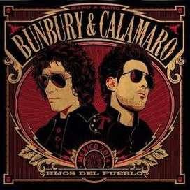 bunbury calamaro hijos del pueblo mexico 2014 cd nuevo