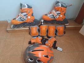 Patines speed blade