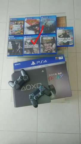 Playstation4 slim 1 tera