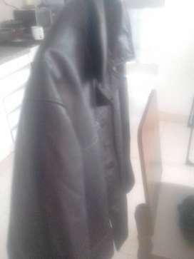 Chaquetilla de cuero negra originalriginal