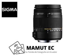 Lente Sigma 18-250mm 3.5-6.3 DC para Nikon