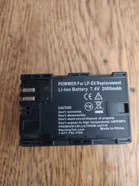 Batería canon lp-e6