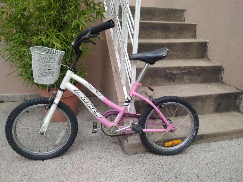 Bicicleta Rod. Catorce Rueditas Canasto 0
