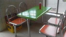 Mesas Wuimpy Y Mesas de Cafetería