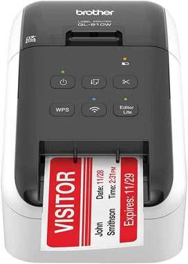 Impresora De Etiquetas Ql-810w - Brother, Wi-fi