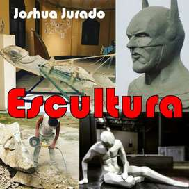 Escultura en diferentes materiales