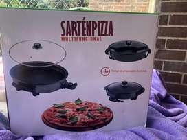 Sarten  pizza multifuncional electrico