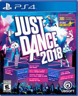 Just Dance 2018 PlayStation 4