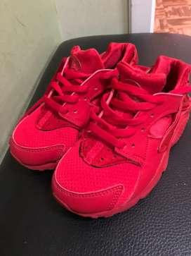 Zapatillas nike de niños unisex talla 12