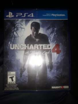 Cambio Juego de Ps4 Uncharted 4