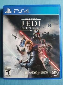 Star Wars Jedi Fallen Order Ps4 Fisico Nuevo Sellado Español