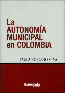 LA AUTONOMIA MUNICIPAL EN COLOMBIA *oferta*