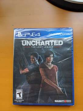 Uncharted: Lost Legacy PS4 NUEVO