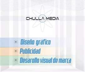 Diseño gráfico, desarrollo visual de marca, manejo de redes sociales, cursos..