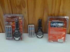Transmisor FM con control remoto.