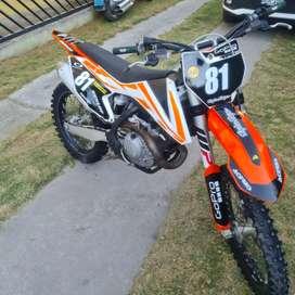 Vendo motocross ktm 450