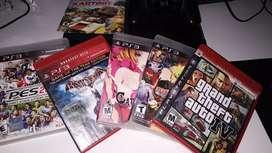 Ps3 Sony Playstation 3 SuperSlim 250gb +  Joystick + 18 juegos