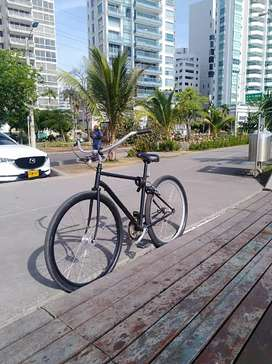 Vendo cachos de bicicleta clásica , son de aluminio
