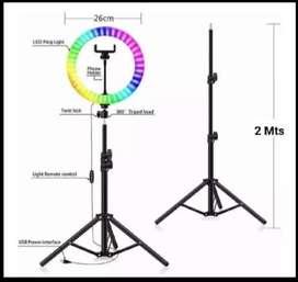 Aro de luz multicolores