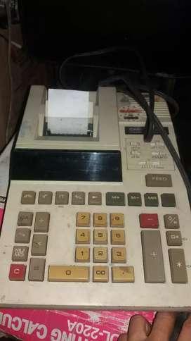 Calculadora cacio eletica