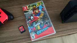 Mario odissey para nintendo switch