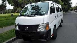 Camioneta Nissan Urvan