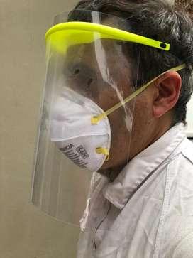 Mascara facial protectora 3D acetato Zona Norte