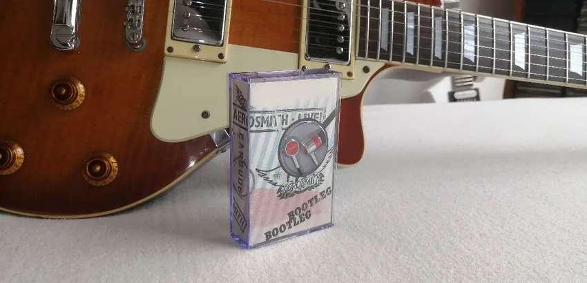 Aerosmith audífonos cassette