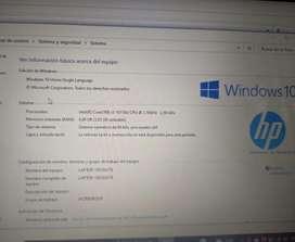 vendo computador HP como nuevo