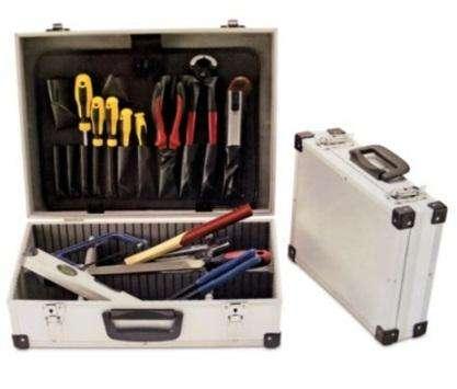 Set Caja De Herramientas Redline Tipo Aluminio NUEVO 0