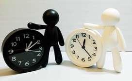 Reloj Despertador con Forma de Hombre 3 D