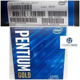 Microprocesador PENTIUM GOLD G5400 BOX. LGA 1151
