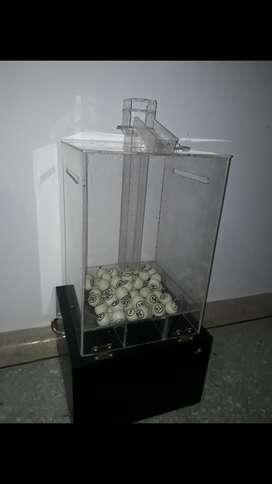Alquiler Balotera Electronica para Bingo