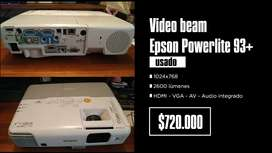 Video Beam Epson PowerLite 93+