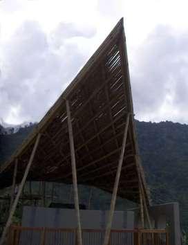 Reparación de estructuras de guadua y madera