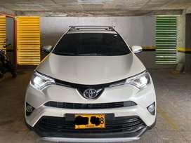 Toyota rav4 blanco perlado