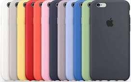 Estuche Silicone Iphone 6-6S Plus Colores