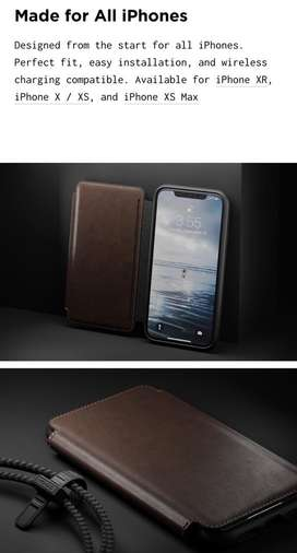 Nomad case rugged leather