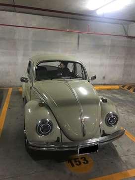 Vw Escarabajo Alemán 1968