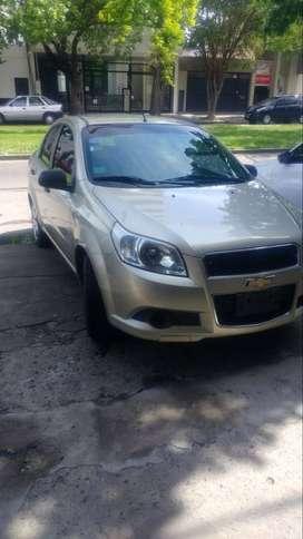 Chevrolet Aveo G3 Ls c/GNC. 1era mano. Titular