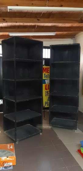 Muebles para estantería con rueditas