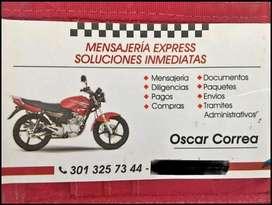 Servicio de mensajeria express.