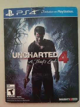 Videojuego para Playstation 4 Uncharted 4 A Thiefs End